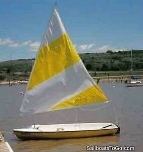 Sail for Sunflower 3.3 Sailboat - First Quality