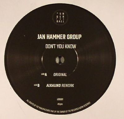 """JAN HAMMER GROUP - Don't You Know - Vinyl (limited 12"""")"""
