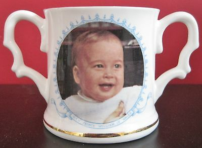 Prince William First Birthday Loving Cup - Coronet