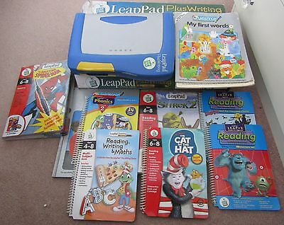 Leap Frog LeapPad Plus Writing Learning System Blue + 14 Games