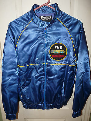 Vintage The Police Synchronicity Jacket Small Punk Skater Rock 1980's Tour Sting