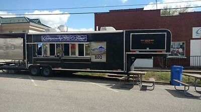 2007 - CWCU 38' Concession Trailer