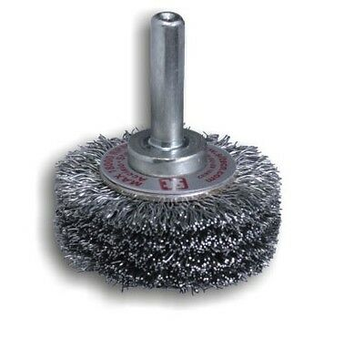 0968 SIT GG53 - 50 mm x 12 mm x 6 mm Shaft Abrasive 0.30 Crimped Stainless Steel