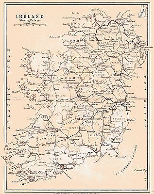 Three antique maps of County Galway and Ireland and a Connaught fact sheet.