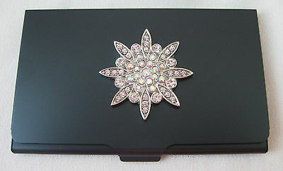Accoutrement Designs Snowflake Needle & Bead Case Magnet Scissor Storage v2