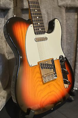 California Artist Telecaster 60 Twist Sunburst Swamp Ash