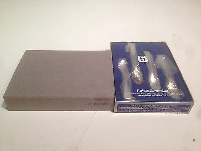 1847 - 1867 Roger Bros. 4 Coffee Spoons In Box New