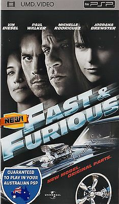 ��●● THE FAST & AND THE FURIOUS ●● UMD Movie PSP  Paul Walker, Vin Diesel *NEW*