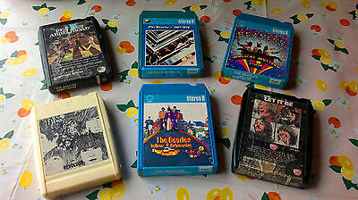 The BEATLES STEREO 8 STEREO8 *Yellow Submarine *Revolver *Abbey Road *Let It Be