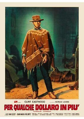For A Few Dollars More POSTER Clint Eastwood Sergio Leone ITALIAN Western