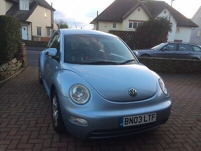 VW beetle 2003, working but damage to body