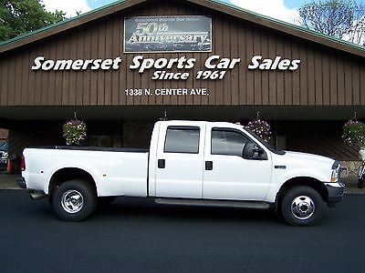 2002 Ford F-350 XLT 2002 FORD F350, 4X4, DUALLY, CREW CAB,, TOWING,PLOWING,7.3 LITRE DIESEL POWER
