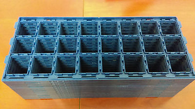 LOT OF 10 Daewon CPU Tray Processor Holder 35mmx35mm A14037 FC-PGA2