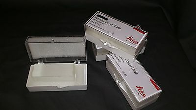 300(3X100) 24x50 microscope glass cover slips slides cytology staining Leica