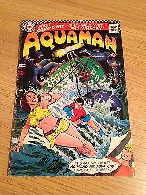 DC Aqua-man #33  1st Aqua-Girl/Tula Appearance May/June 1967