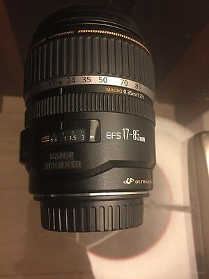 Canon EF-S 17-85mm f/4.0-5.6 EF IS USM Lens