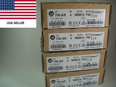 *Ships Today* Allen Bradley 1769-IA16 2016  Input Module 16 Pt  *Sealed 2016*
