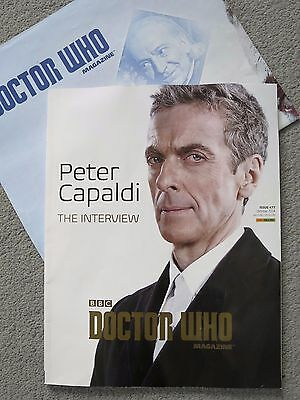 Two Doctor Who magazines - collectors items