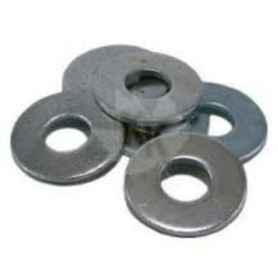 WASHERS Flat M6x12.5x1.2mm Stainless Steel Grade 304 SS 6 mm Flat Washer - Box o