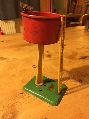 Vintage O-Gauge water tower by Meccano Hornby