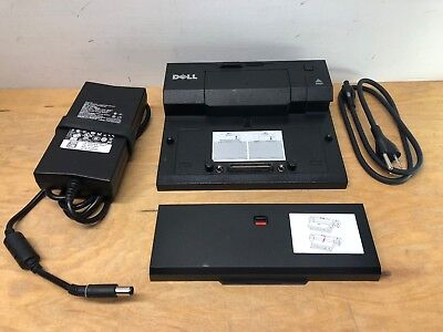 Dell PRO3X PR03X Laptop Docking Station with 130W AC Adapter and Spacer