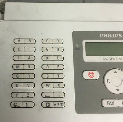 Philips LPF5125 Laser Fax 33.6Kbps 200pp Memory Prints Mono 20ppm with tonner