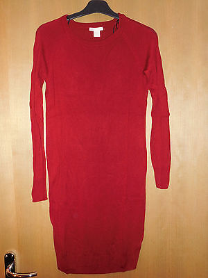 H&M mama red maternity jumper size M