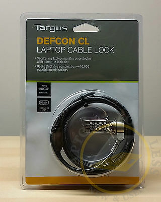 Targus DEFCON® CL Laptop/Netbook Computer Cable Lock