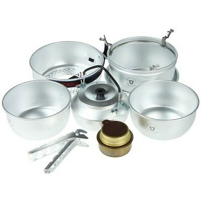 Trangia 27-2 Ultralight Camping Stove Cooking Set & Kettle 1-2 people w/ Burner