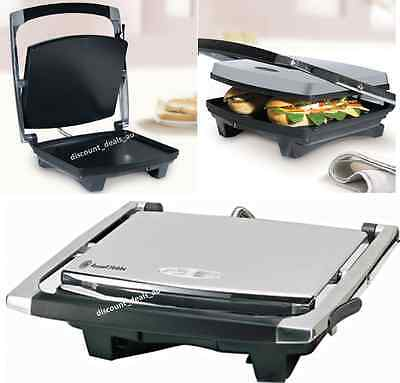 Sandwich Grill Press Wrap Toast Melt Russell Hobbs Electric Hot Plate Cook Heat
