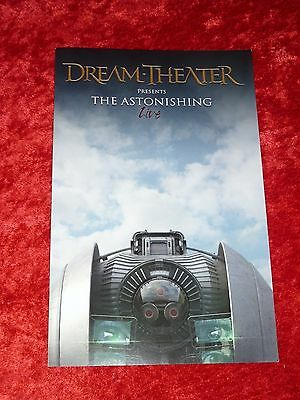 "Dream Theater ""Astonishing LIVE"" Official Promotional Tour Program! NICE!"