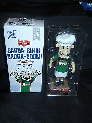 New In Box 2012 Brewers Italian Sausage Collectible Bobblehead 4 of 6