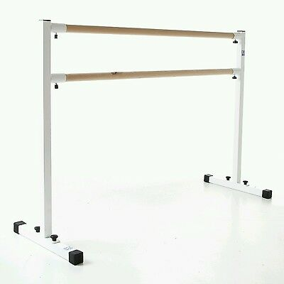 Ballet barre 1.4 meter, bar ,portable freestanding, double barre.New