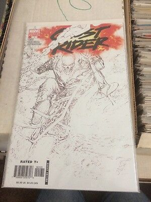 Ghost Rider #1 Sketch Variant Silvestri Cover Awesome!! NM- Condition!!