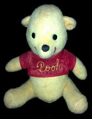 VINTAGE~WINNIE The POOH Bear~ California Stuffed Toys Walt Disney Production 13""