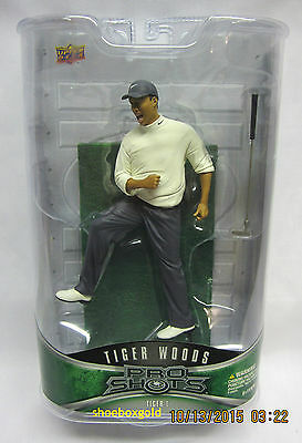 Tiger Woods, ProShots Figurine #1, Upper Deck Authenticated
