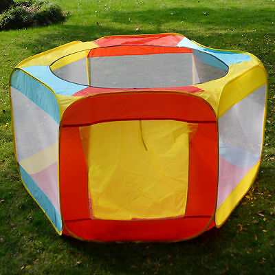 Folding Portable Playpen Baby Play Yard W/Travel Bag Indoor Outdoor Safety New