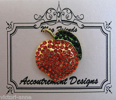 Accoutrement Designs Peach Needle Minder Magnet Mag Friends