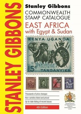 Stanley Gibbons East Africa, Egypt Sudan 4th Edition Soft Cover Stamp Catalogue
