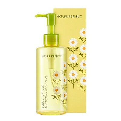 [NATURE REPUBLIC]  Forest Garden Chamomile Cleansing Oil 200ml - Korea Cosmetic