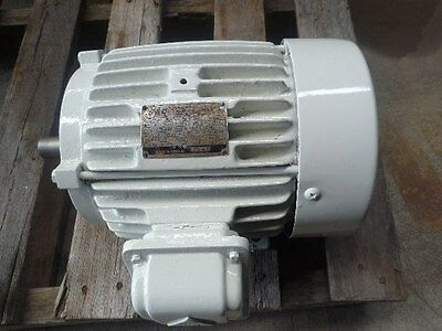 Gec 3Hp 3 Phase Electric Motor/ 970Rpm