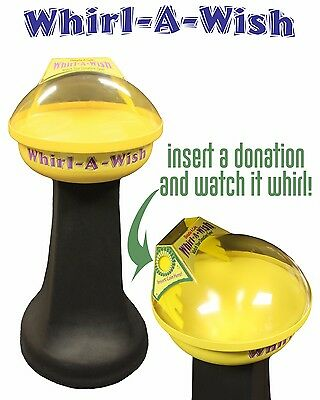 Donation Box, Charity, Coin Spinner, Coin Funnel, Fundraising, Money collection