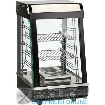 Commercial Countertop Heated Displays PW-RT/380/TG Pie Warmer & Hot Food Display
