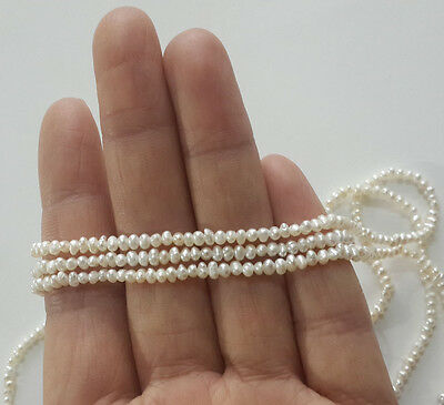"""2-3mm pearl, genuine freshwater pearl, loose beads, tiny pearl,seed pearls,14"""""""