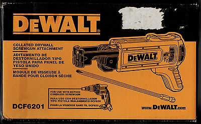 DEWALT DCF6201 Collated Screwgun Attachment Drywall magazine