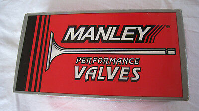 "NEW - Manley Ford 351C Severe Duty Exhaust Valves 11805-8 1.710"" .3415"" 5.067"""