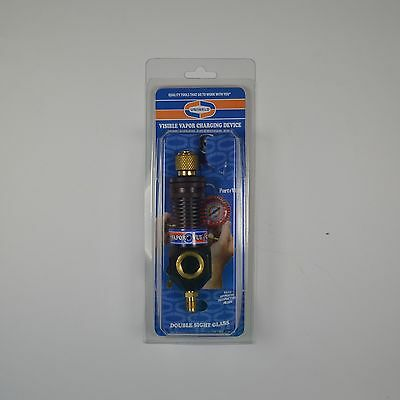 """Uniweld VV1 VaporVue Refrigerant Charging Device 1/4"""" Fl with sight glass - NEW!"""