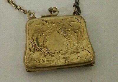 Antique/ Vintage Hallmark FP Sterling Silver Dance/ Calling Card Case