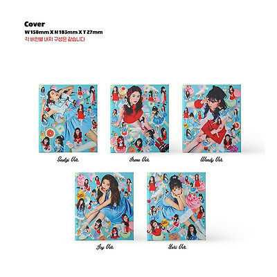 RED VELVET - ROOKIE - 4TH MINI ALBUM CD + Photo Book +photocard free ship