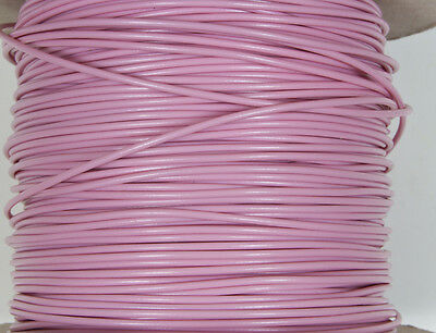 Layout wire - PINK 7/0.2 equipment wire for general wiring N & OO gauge 10M.
